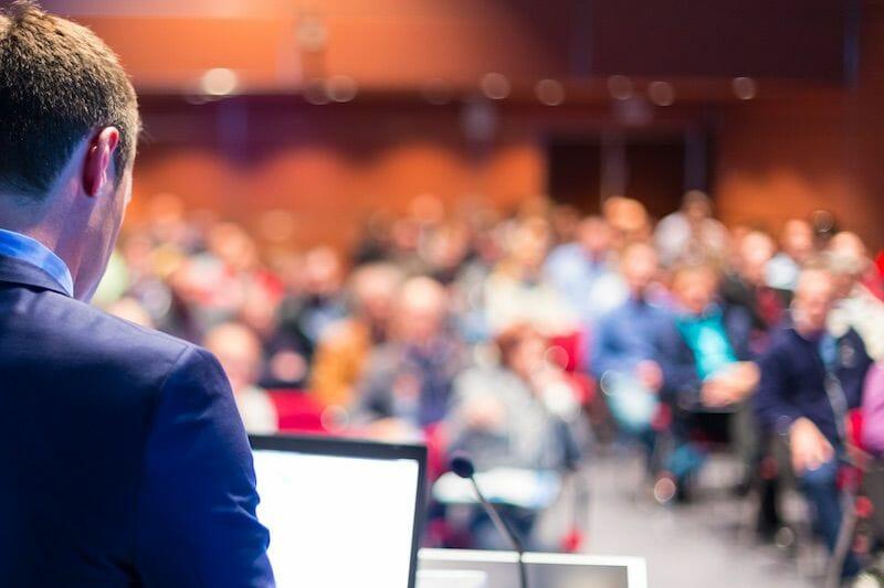 speaker-at-medical-conference